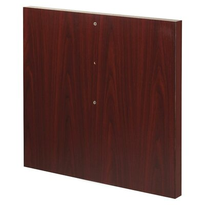 Modular Conference Straight Table Base Finish: Mahogany