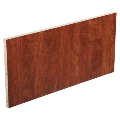 18.9 H x 37.01 W Desk Privacy Panel Finish: Cherry