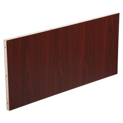 18.9 H x 37.01 W Desk Privacy Panel Finish: Mahogany