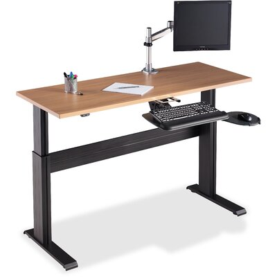 Height Adjustable Workstation Table Top Size: 1 H x 73.23 W x 26.77 D