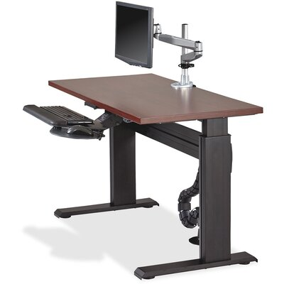 Height Adjustable Workstation Table Top Size: 1 H x 53 W x 29 D