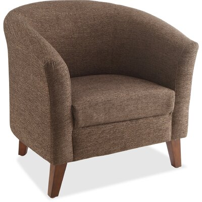 Lounge Chair Seat Color: Brown