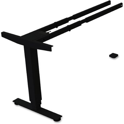 Third-leg Add-on Desk Base Finish: Black