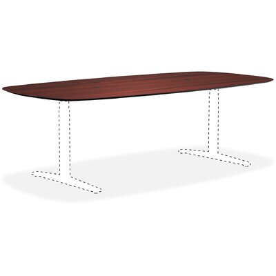 Knife Edge Conference Table Top Color: Mahogany