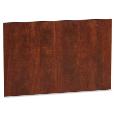 22.64 H x 27.76 W Desk Privacy Panel Finish: Cherry