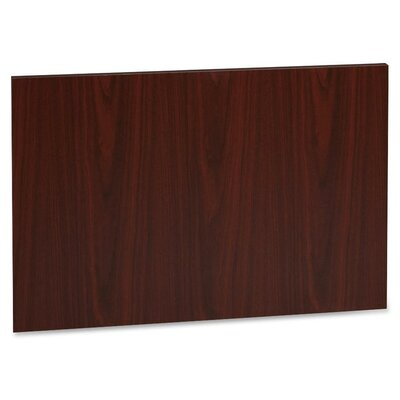 22.64 H x 27.76 W Desk Privacy Panel Finish: Mahogany
