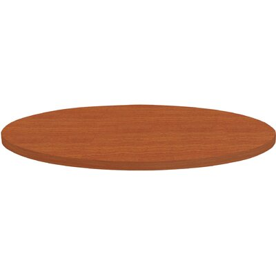 Invent Table Top Color: Cherry, Size: 3 H x 44 W x 44 D