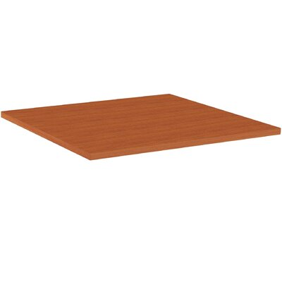 Hospitality Table Top Color: Cherry, Size: 3 H x 44 W x 44 D