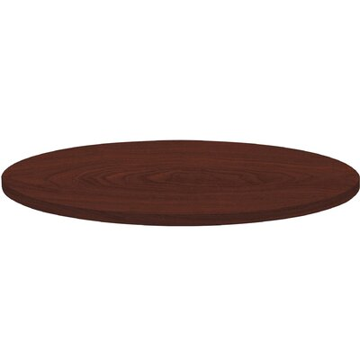 Invent Table Top Size: 3 H x 38 W x 38 D, Color: Mahogany