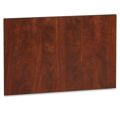 22.64 H x 32.48 W Desk Privacy Panel Finish: Cherry