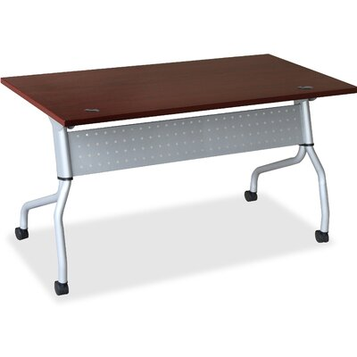 Flipper Training Table with Modesty Panel Size: 26.77 H x 61.81 W x 7.09 D