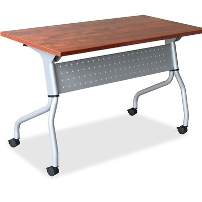 Flipper Training Table with Modesty Panel Finish: Cherry, Size: 26.77 H x 61.81 W x 7.09 D