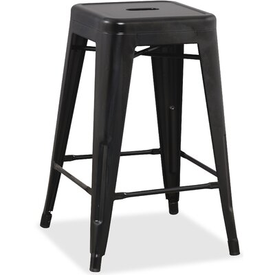 Metal 42.1 Bar Stool Finish: Black