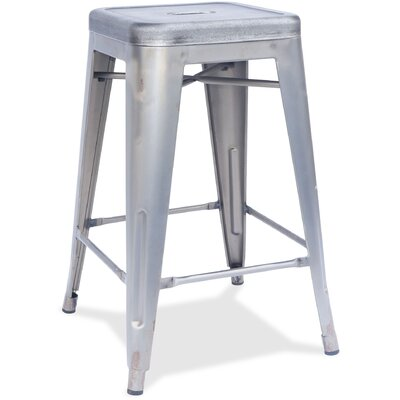 26 Bar Stool Finish: Silver