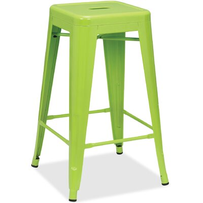Metal 42.1 Bar Stool Finish: Lime