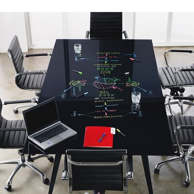Conference Table Top Size: 3.2 H x 97.8 W x 50.6 D