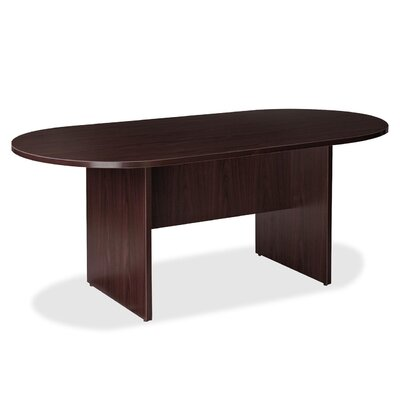 Prominence 79000 Racetrack/Oval 73H x 38W x 74L Conference Table Finish: Espresso