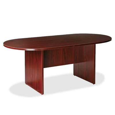 Prominence 79000 Racetrack/Oval 73H x 38W x 74L Conference Table Finish: Mahogany