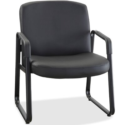Big and Tall Genuine Leather Guest Chair