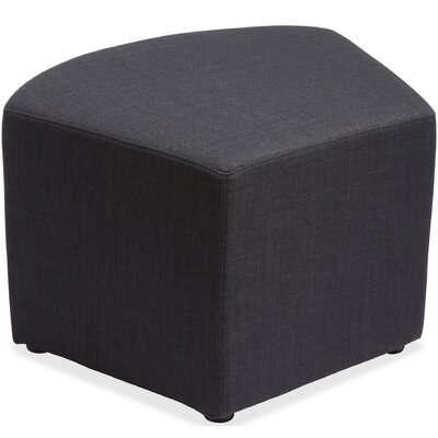 Quad Glider Ottoman Upholstery: Black