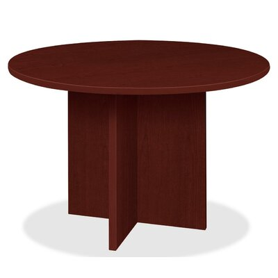 Prominence 79000 Circular 44H x 44W x 44L Conference Table Finish: Mahogany