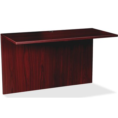 Prominence 79000 31 H x 50 W Desk Bridge Finish: Mahogany