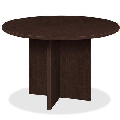 Prominence 79000 Circular 44H x 44W x 44L Conference Table Finish: Espresso