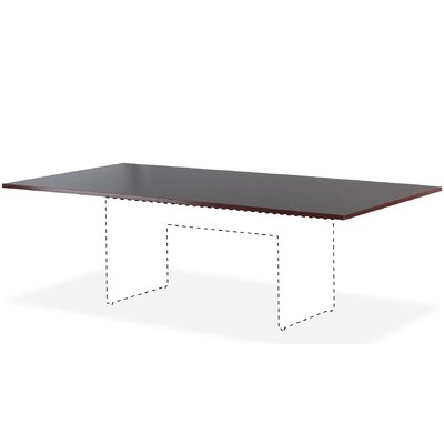 Essentials Conference Table Top Finish: Mahogany