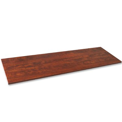 Essentials Laminate Credenza Storage Table Top Finish: Cherry