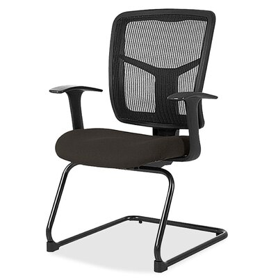 86000 Series Mesh Guest Chair Seat Color: Pepper