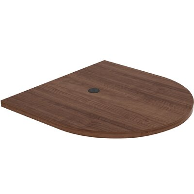 Prominence Conference Table Top Finish: Walnut, Size: 3