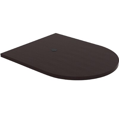 Prominence Conference Table Top Finish: Espresso, Size: 3 H x 63.2 W x 50.4 D