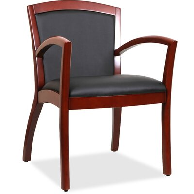 Arched Arms Guest Chair Finish: Black Walnut