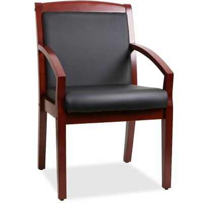 Sloping Arms Guest Chair Finish: Black Walnut