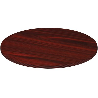 Chateau Conference Table Top Finish: Mahogany, Size: 3.3 H x 44.5 W x 44.5 D