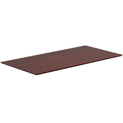 Electric Table Top Color: Mahogany