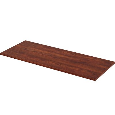 Straight-Edge Utility Table Top Color: Cherry