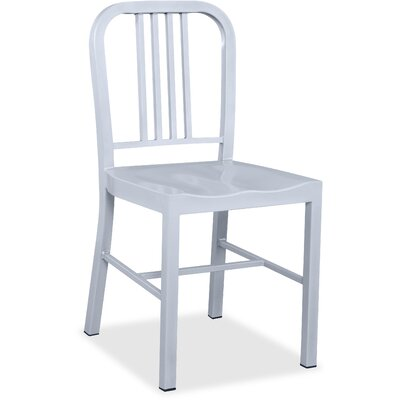 Side Chair Color: Silver