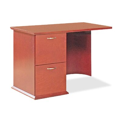 Lorell 9000 Series 29 H x 42 W Right Desk Return Finish: Cherry