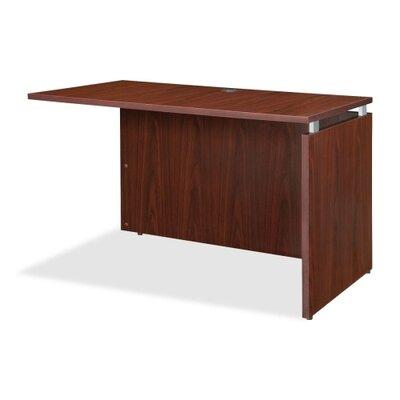 29.5 H x 29.5 W Right Desk Return Finish: Mahogany