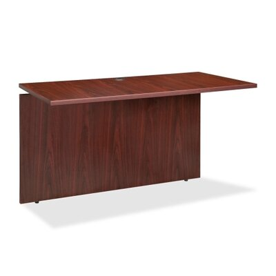 Ascent 68600 Series 29.5 H Desk Bridge Size: 36 W x 24 D, Finish: Mahogany