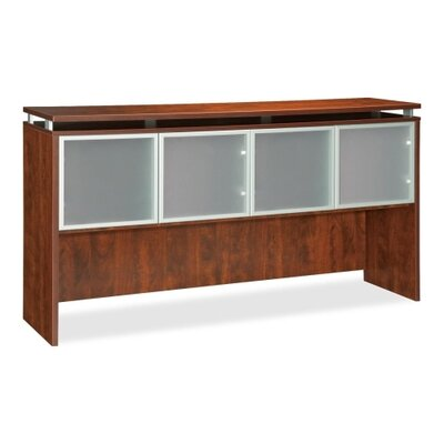 39 H x 72 W Desk Hutch Finish: Cherry