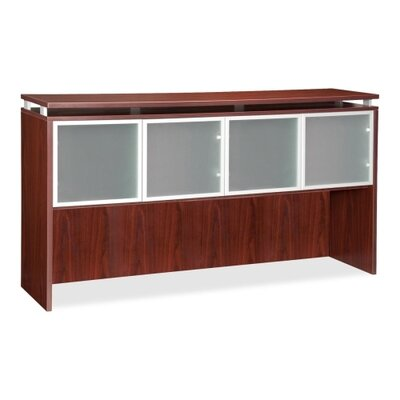 39 H x 66 W Desk Hutch Finish: Mahogany