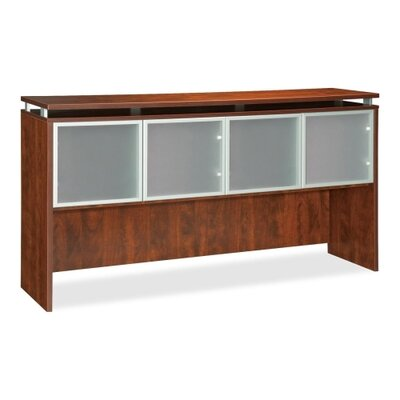 39 H x 66 W Desk Hutch Finish: Cherry