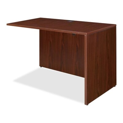 29.5 H x 35 W Right Desk Return Finish: Mahogany