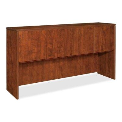 36 H x 72 W Desk Hutch Finish: Cherry