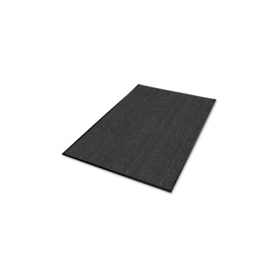 Solid Doormat Size: Rectangle 3.6 x 5.5