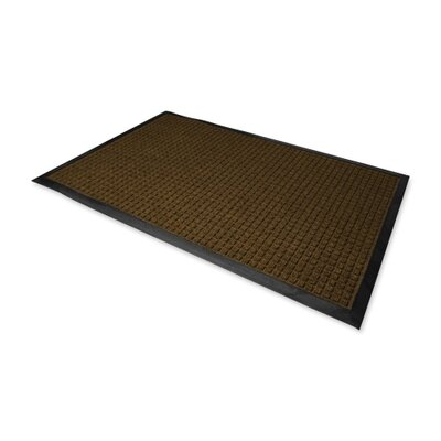 Solid Doormat Size: Rectangle 3 x 5