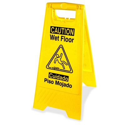 Universal Graphic Wet Floor Sign