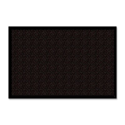 Solid Doormat Color: Chocolate, Size: Rectangle 36 x 60